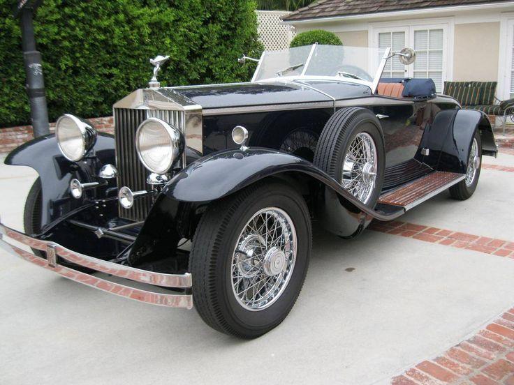 1932 Rolls-Royce Phantom II Henley Roadster By Brewster & for sale #1788702 | Hemmings Motor News