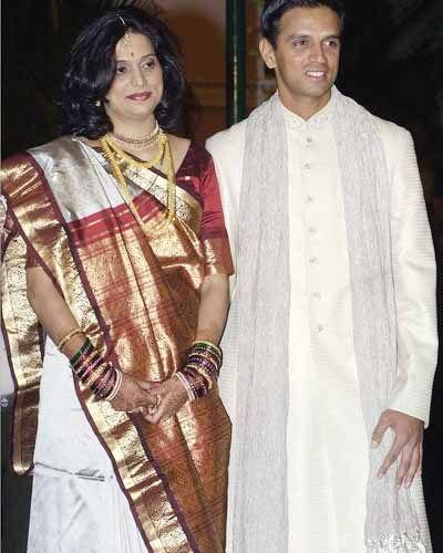 Rahul Dravid & Vijeta Dravid