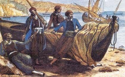 Έλληνες έμποροι και καραβοκύρηδες.