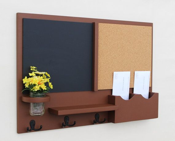 1000 images about message center on pinterest letter for Cork board with hooks