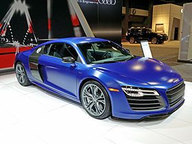 Audi R8 Made on June 2007–present 54,600 built by August of 2014
