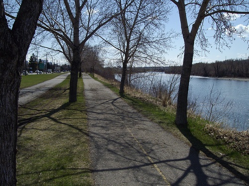 Enjoy the many pathways and bike paths in Calgary! Get away from the traffic, the stores, your computer and enjoy the natural beauty Calgary has to offer. You'll forget you're even in a city as soon as you step onto a path! Some of the most beautiful scenery is right there in the City Core! Visit  http://www.calgary.ca/CSPS/Parks/Pages/Pathways/Pathways-in-Calgary.aspx for maps and information on all the different pathways in the City. OMG! There's an app for that too…
