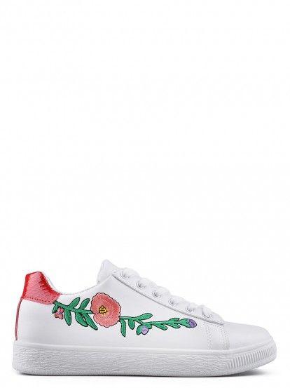 Pantofi sport de damă TENDENZ - alb
