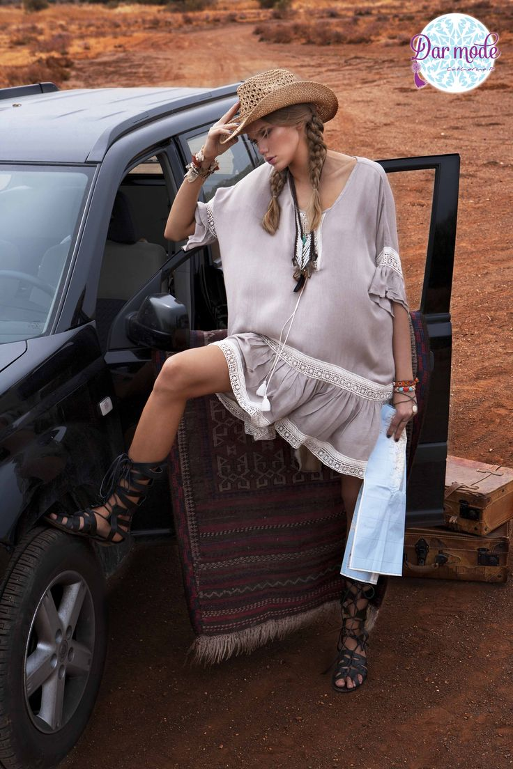 Tunic Myriam・Out of Africa lookbook