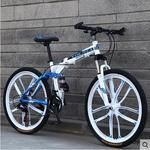New brand soft tail Magnesium alloy 26 inch 24 speed folding mountain bike outdoor downhill disc brake bicycle MTB bicicleta