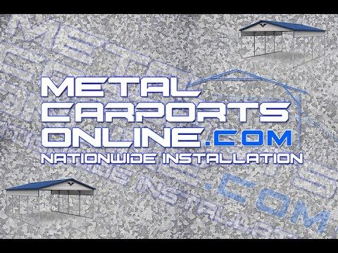 Metal Carports Online | Metal Garages, Metal Carports for Sale