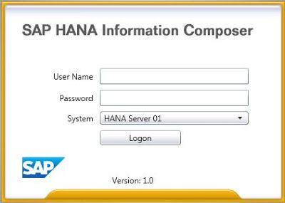SAP HANA Information Composer V 1.0 - External Data Upload