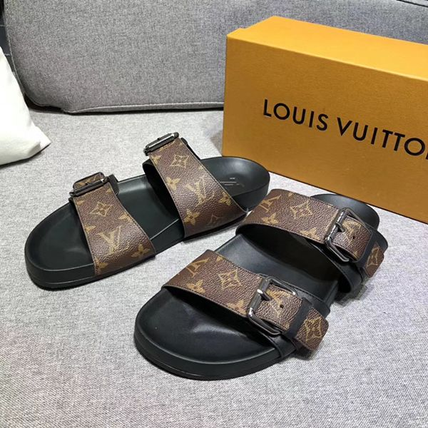995b63d0647 Louis Vuitton Monogram Bom Dia Mule,Sandals & Slides ...