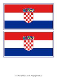 Image result for croatia flag drawing