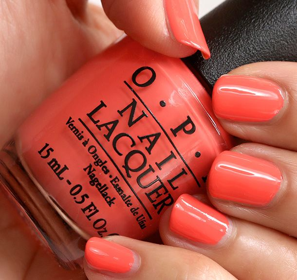OPI Toucan Do It If You Try, a creamy confidant orange