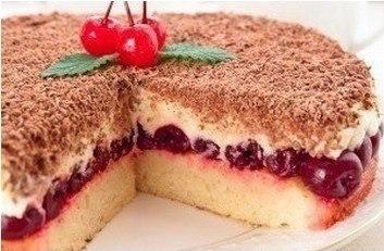 """Cherry Pie """"Pleasure """" Вишневый пирог «Наслаждение» - Кулинарный рецепт - Повар в доме"""