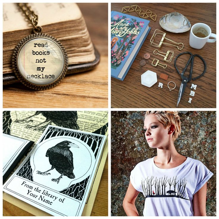 The Picture Garden: Austrian Etsy Gift Ideas ... for bookish minds!