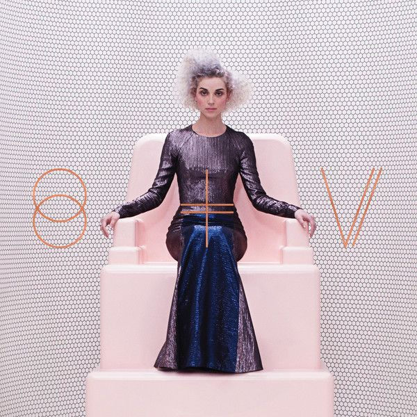 """2014 NME Album of the Year: """"St. Vincent"""" by St. Vincent on Let's Loop - listen with YouTube, Spotify, Rdio & Deezer on LetsLoop.com"""