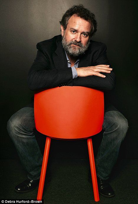 Lord Grantham ... Hugh Bonneville..lookin' a little scruffy. Has been out red stag hunting.