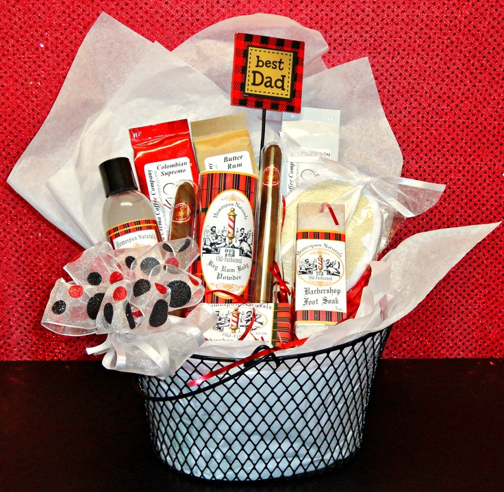 Baby Gift Basket For Dad : Best ideas about new dad basket on baby