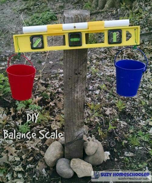 Great idea for exploring maths in the outdoors
