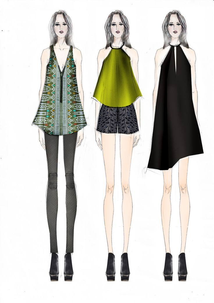First look - upcoming runway collection #roadtoJFW #NFRT