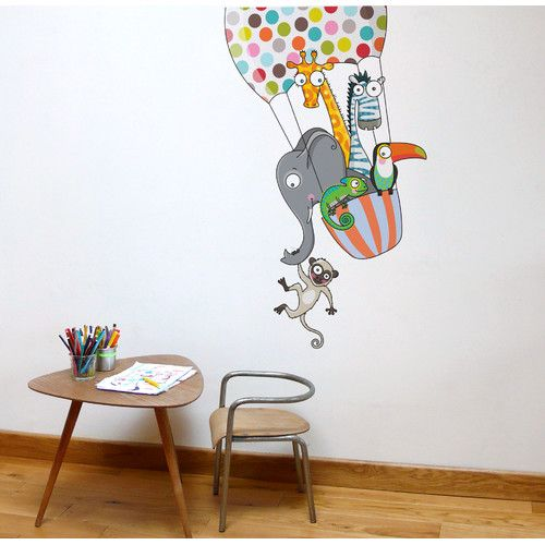 Found it at AllModern - Ludo a Balloon Ride Wall Decal