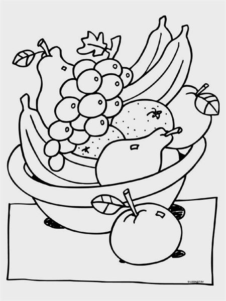 pin by babette nariswari on fruit coloring pages in 2020