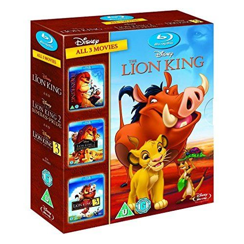 $30 The Lion King Trilogy - Triple Pack [Blu-ray][Region Free]