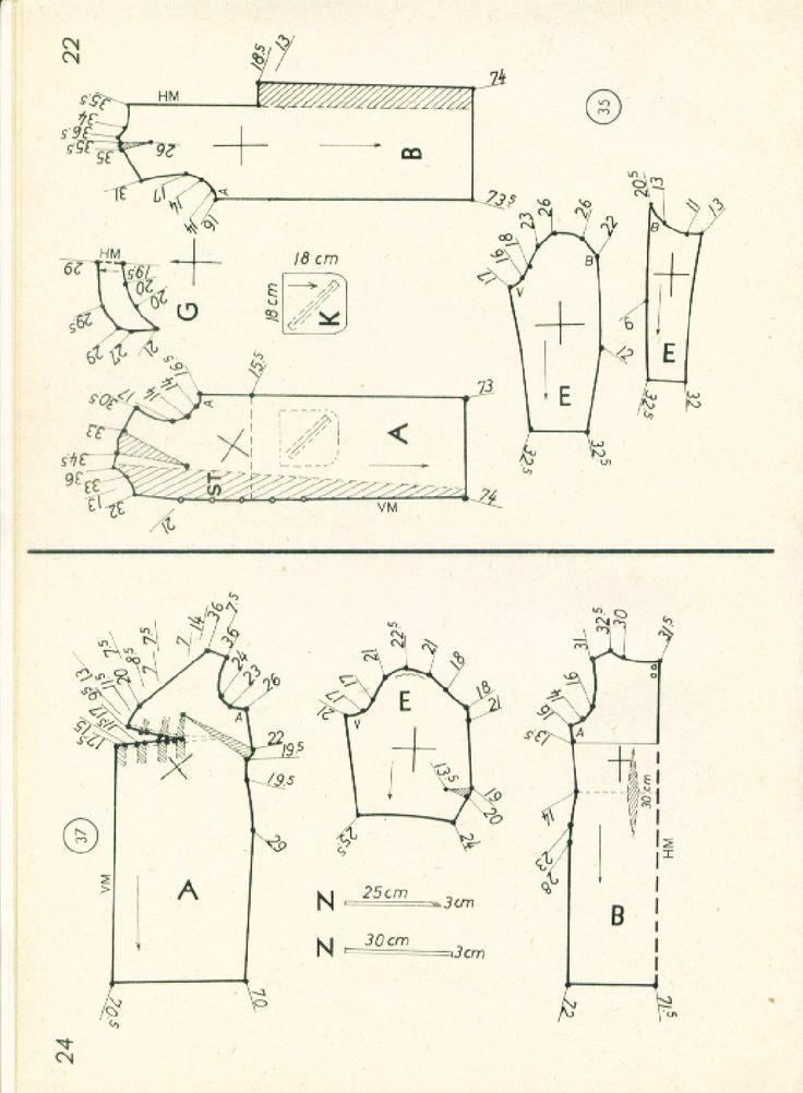 Vintage Sewing Patterns 99 winter 1965  Patternmaking