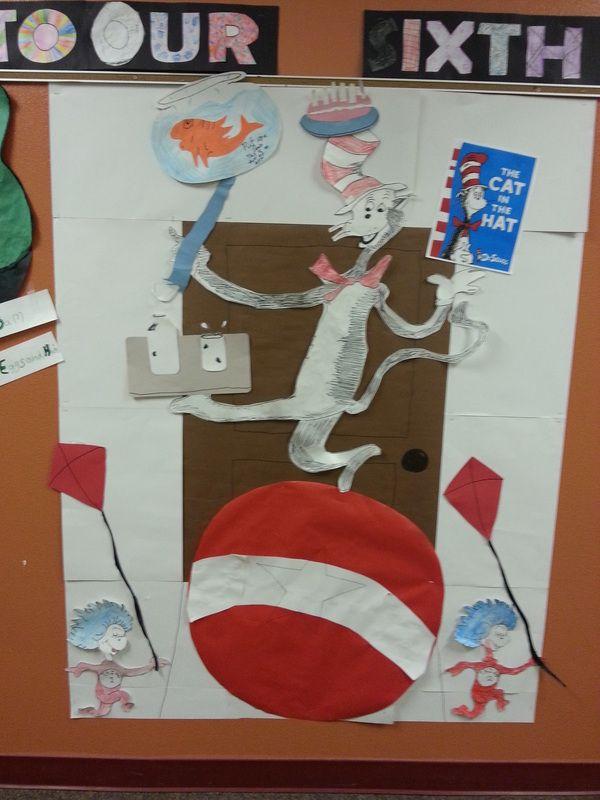 15 best Cat in the Hat Door Decorating Contest images on ...