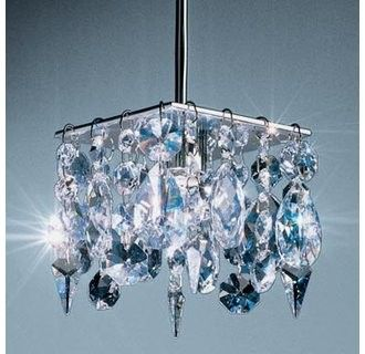 Price: $452.93 Bruck Lighting 220209 Down Light Fixture with Clear Crystal Shade from the Cristello Collection - Down Light Fixture with Clear Crystal Shade from the Cristello Collection  Features: Includes Clear Crystal Shade12V AC/DC input50VA, 50W for 1 (maximum 50 Watt Light)GY6.35 socketSuitable for dry locations onlyDimmable48 STRASS Swarovski Diamante-stones