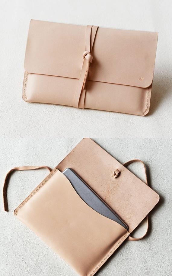 Leather Macbook Case Laptop Case Macbook Case Macbook Pro 13″ Case New Macbook air 13″ Case Laptop Bag Macbook Sleeve Nature Tan