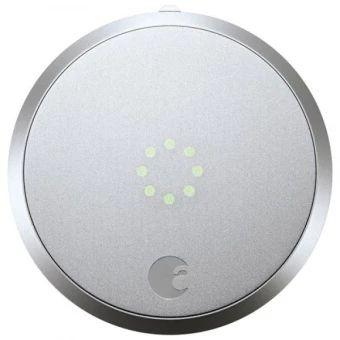 ราคาถูก  August Smart Lock HomeKit Enabled กลอนประตูอัจฉริยะ - Sliver  ราคาเพียง  12,990 บาท  เท่านั้น คุณสมบัติ มีดังนี้ ราคาผู้ผลิต ถูกที่สุด เทคโนโลยีใหม่ล่าสุด ฟังก์ชั่นการใช้งานหลากหลาย