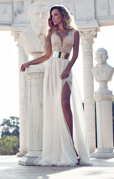 Свадебные платья Julie Vino в греческом стиле | смотреть фото цены купить