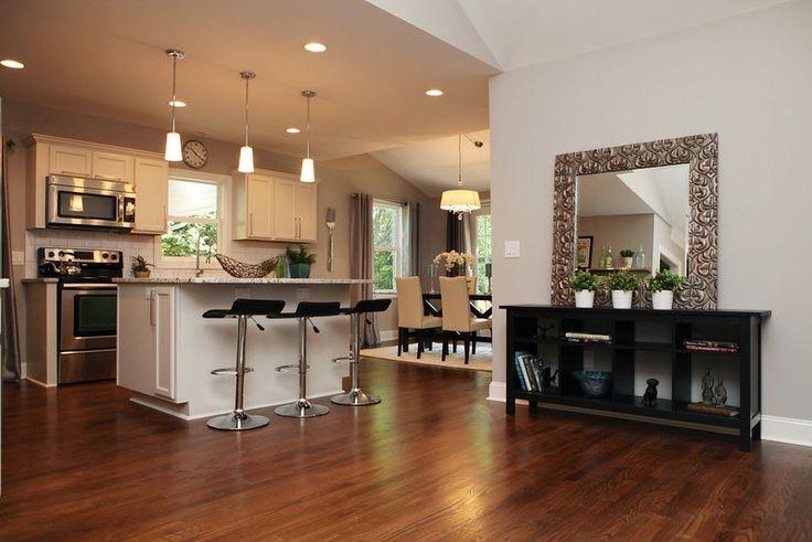 ranch floor plans open concept | completely open floor plan in