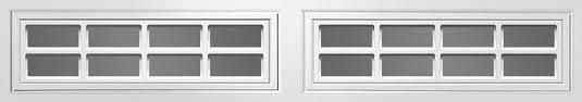 "Clopay Window Insert Long Panel Colonial 2 Piece Set. 38 7/8"" x 10 1/2"" - DIY"