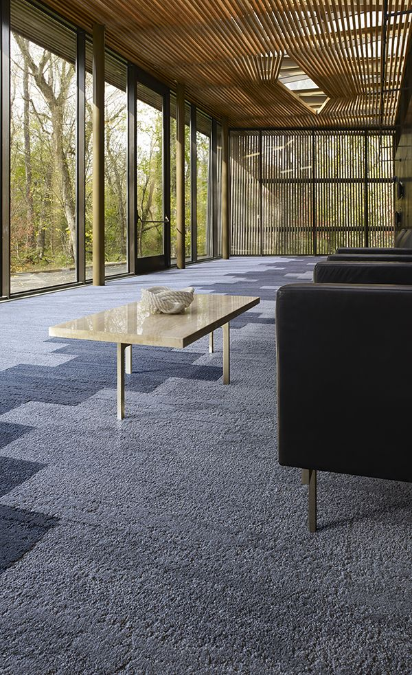 Interface | Modular Carpet Tile | Near & Far | NF401 Shale | NF401 Driftwood