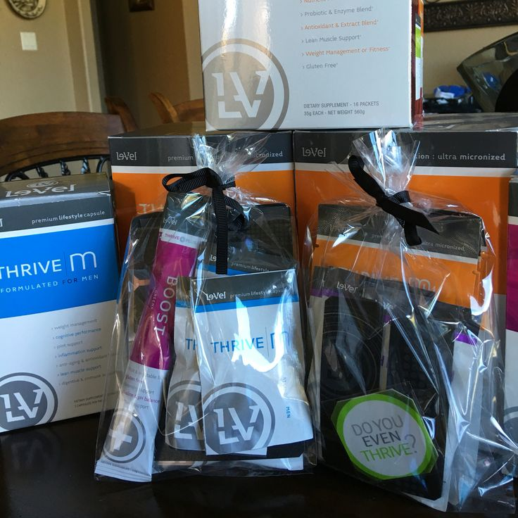 $20 3-Day Trial packs are ready to go. Men are liking the benefits of Thrive as well. #Thrive #nutrition #weightloss https://thrivewithlysa.le-vel.com