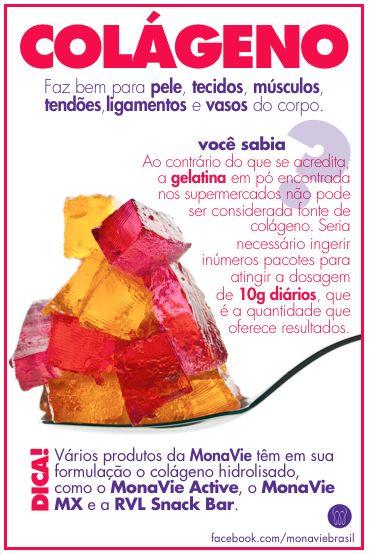 Dica de beleza e saúde!  #MonaVie #Colágeno