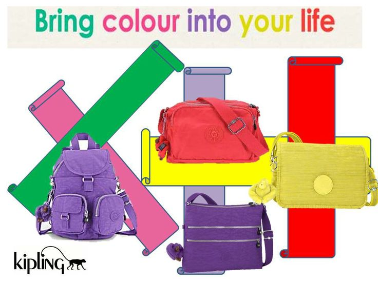 Kipling bags are so light and practical a great addition to your Summer Wardrobe. Available in Store Now.