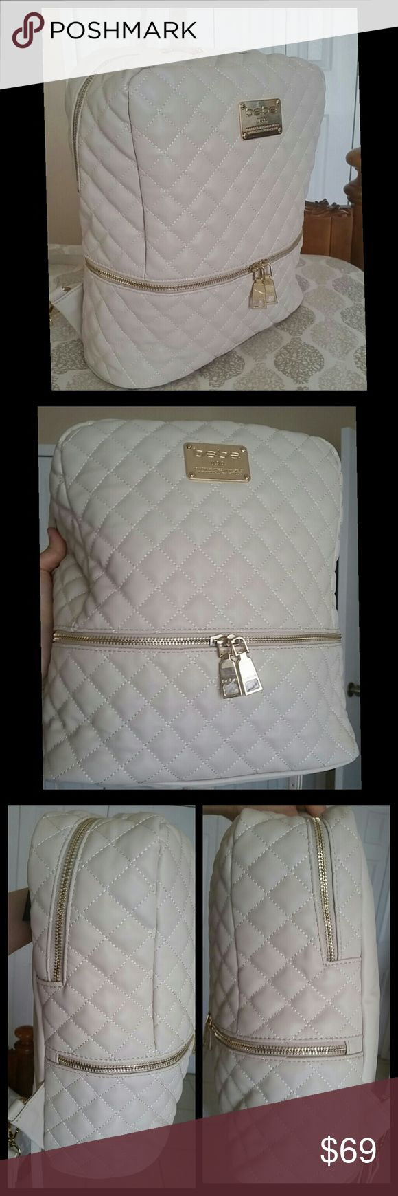 NWT Bebe Danielle Large Quilted Backpack NWT  OPEN TO OFFERS  AVAILABLE ON MERC bebe Bags Backpacks