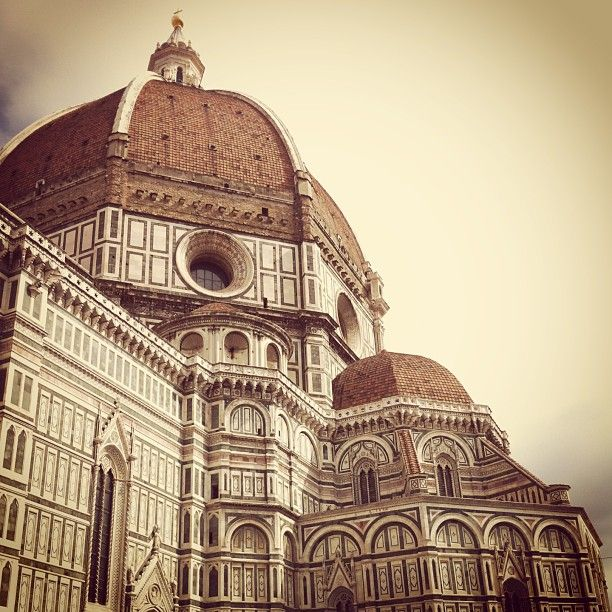 It's beautiful, romantic, and my middle name is Florence...so I have always wanted to travel there!