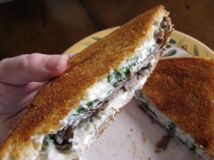 Samantha's Posh Beef and Cheese Toasted Sandwich  #KiwiFaves