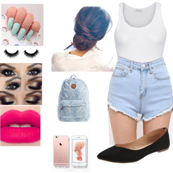 Good Bye Summer ☀️ by danaayoub24 on Polyvore featuring polyvore, moda, style, American Vintage, Old Navy and Billabong