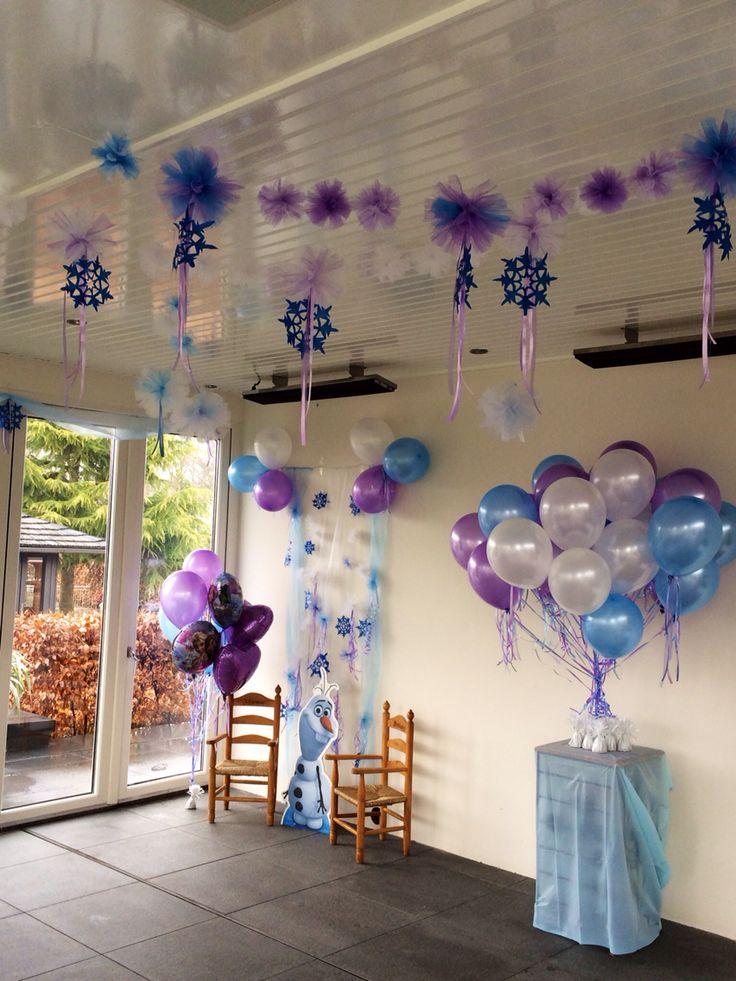 Verjaardag decoratie frozen octopuss for Decoratie verjaardag