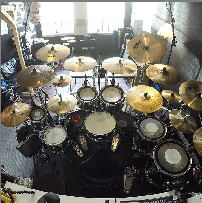 how to set up a drum set youtube