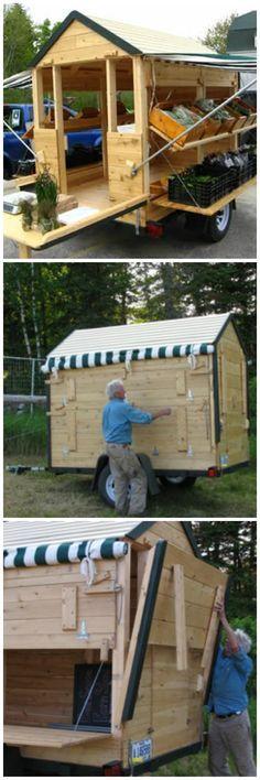 Portable Farm Stand