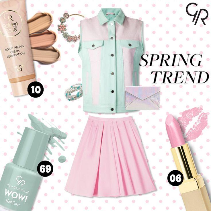 Golden Rose renkleri ile bahar trendini oluşturmaya ne dersin?