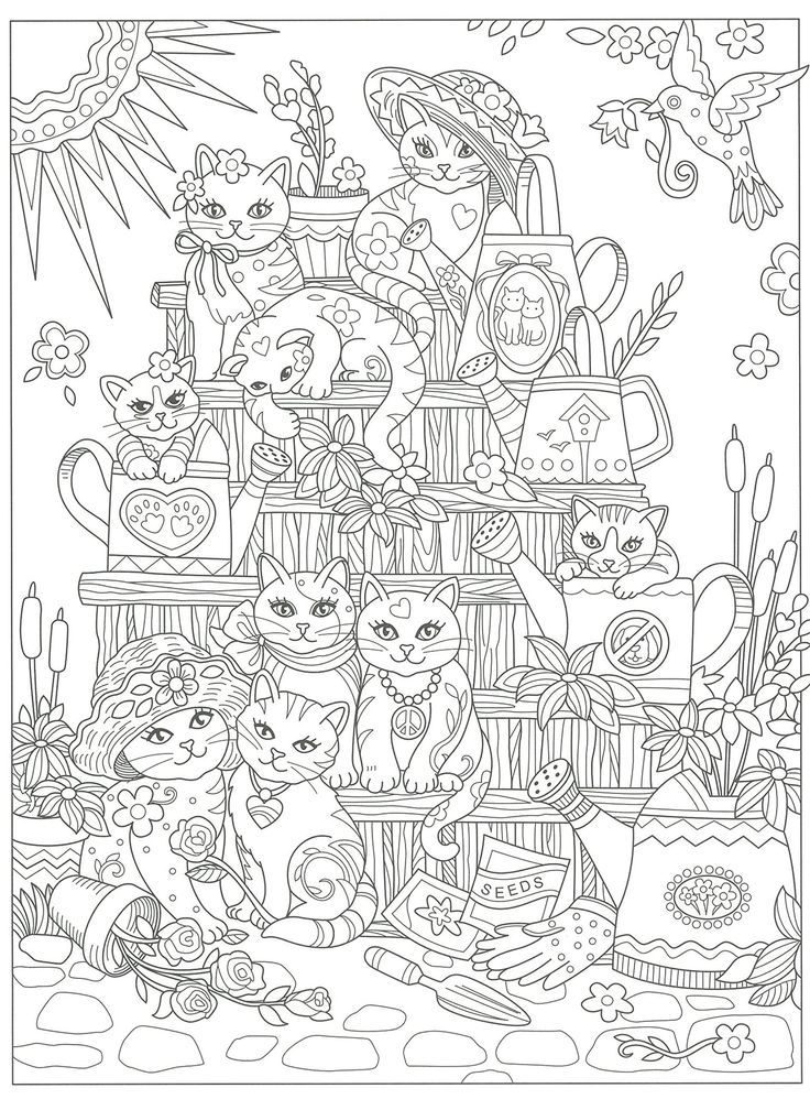 1285 best Coloring picture  målar bilder images on Pinterest - best of easy coloring pages for christmas