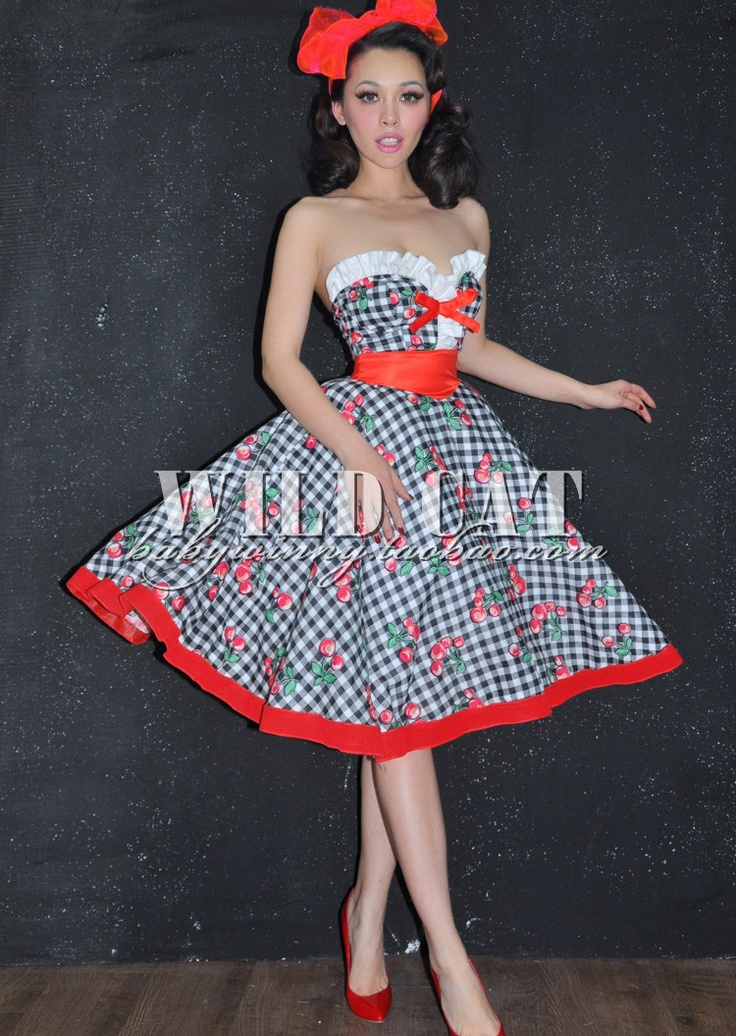 Pin up style dress ciara 39 s sweet 16 pinterest sexy pin up and sexy pin up - Pin up style ...