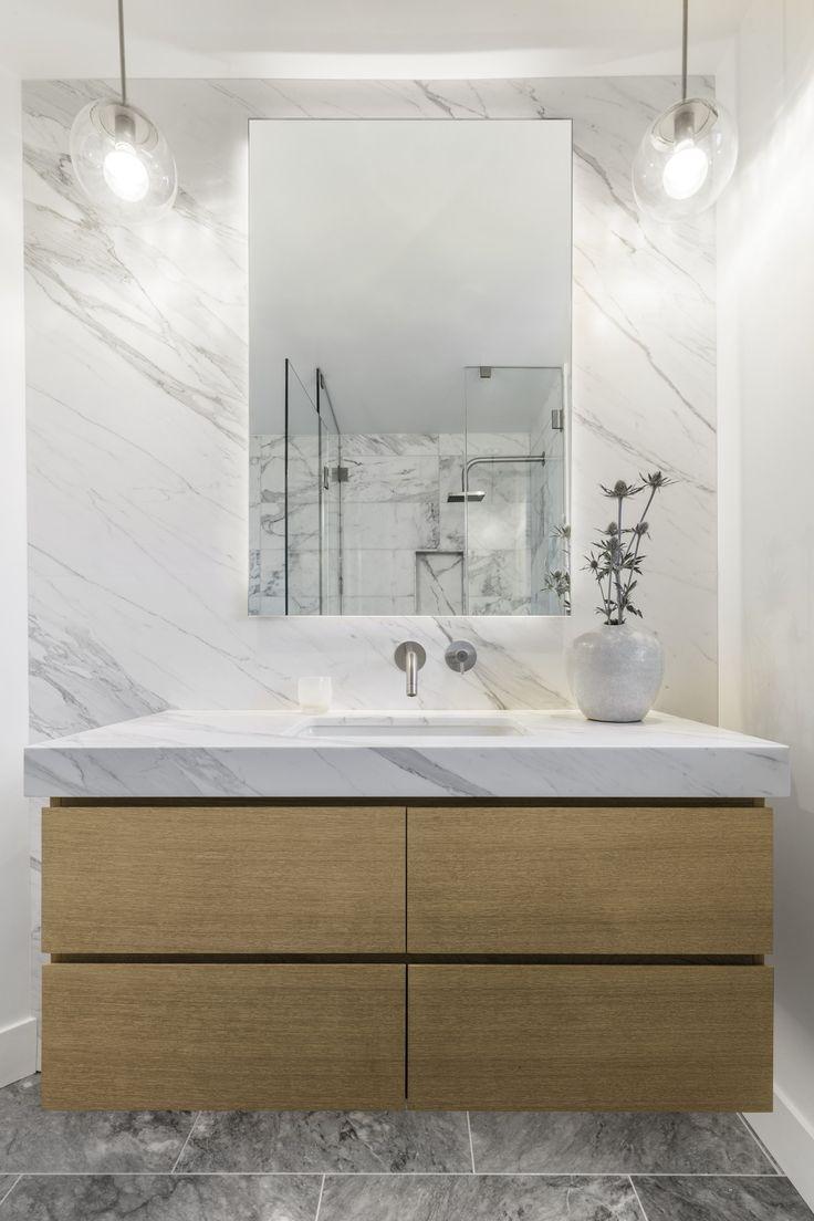 Modern Russian Hill Residence in San Francisco, Bathroom