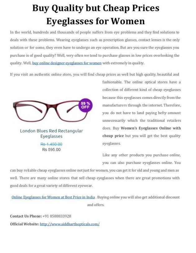 buy women eyeglasses online with cheap price frames online - Eyeglass Frames Online