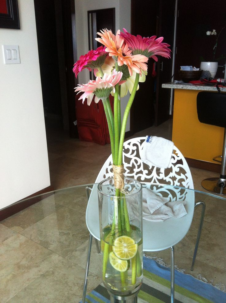 17 mejores ideas sobre florero de lim n en pinterest - Centros de mesa con limones ...