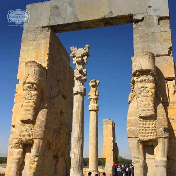 The towering columns of Persepolis, just a few hours away from Shiraz, stand testament to the magnificence of the great Achaemenid empire. #ExploreFourCorners